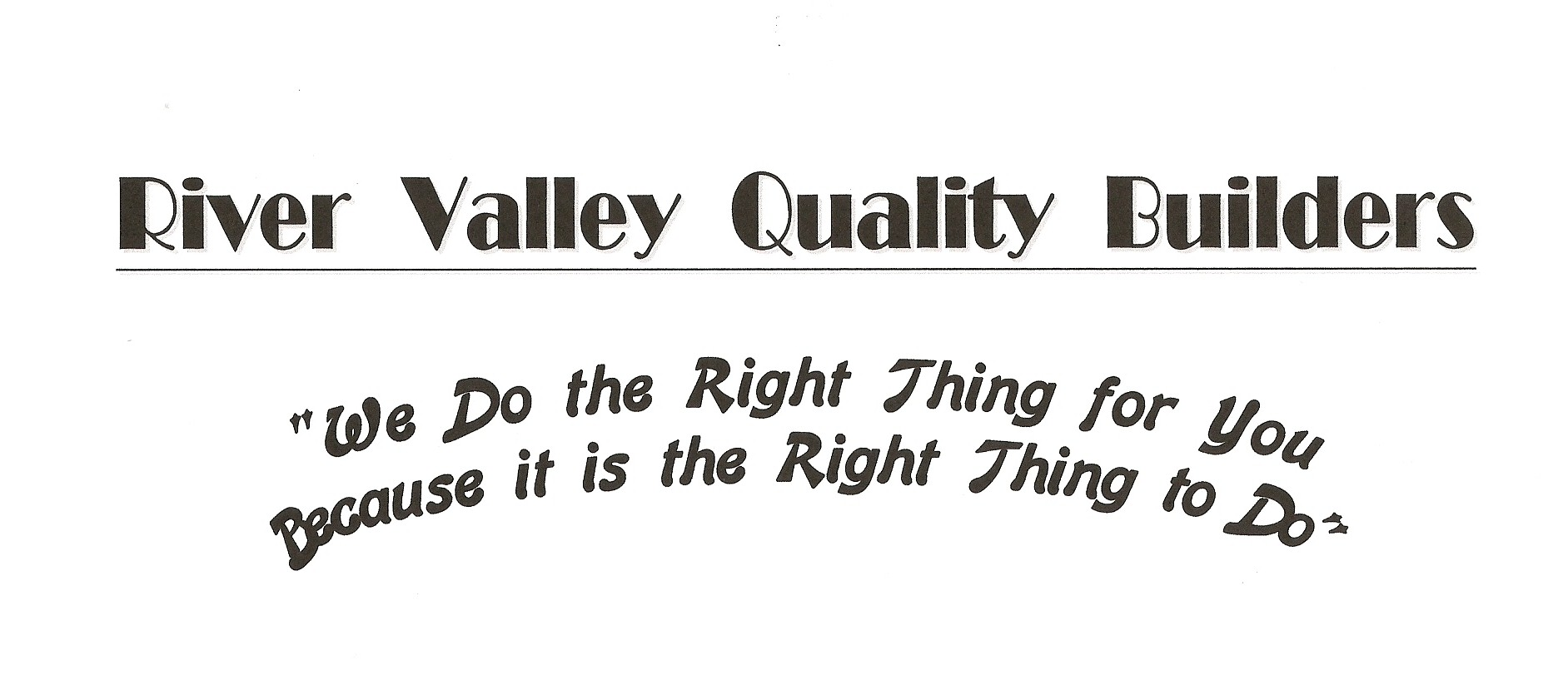 River Valley Quality Builders